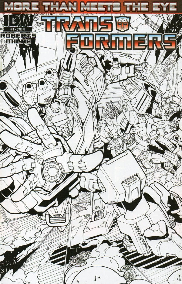 Transformers: More Than Meets The Eye #03 Variant