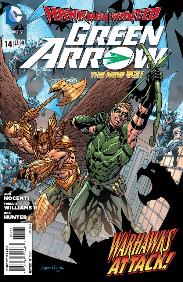 Green Arrow (The New 52) #14