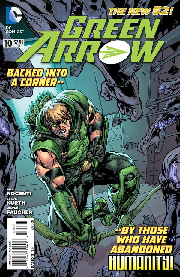 Green Arrow (The New 52) #10