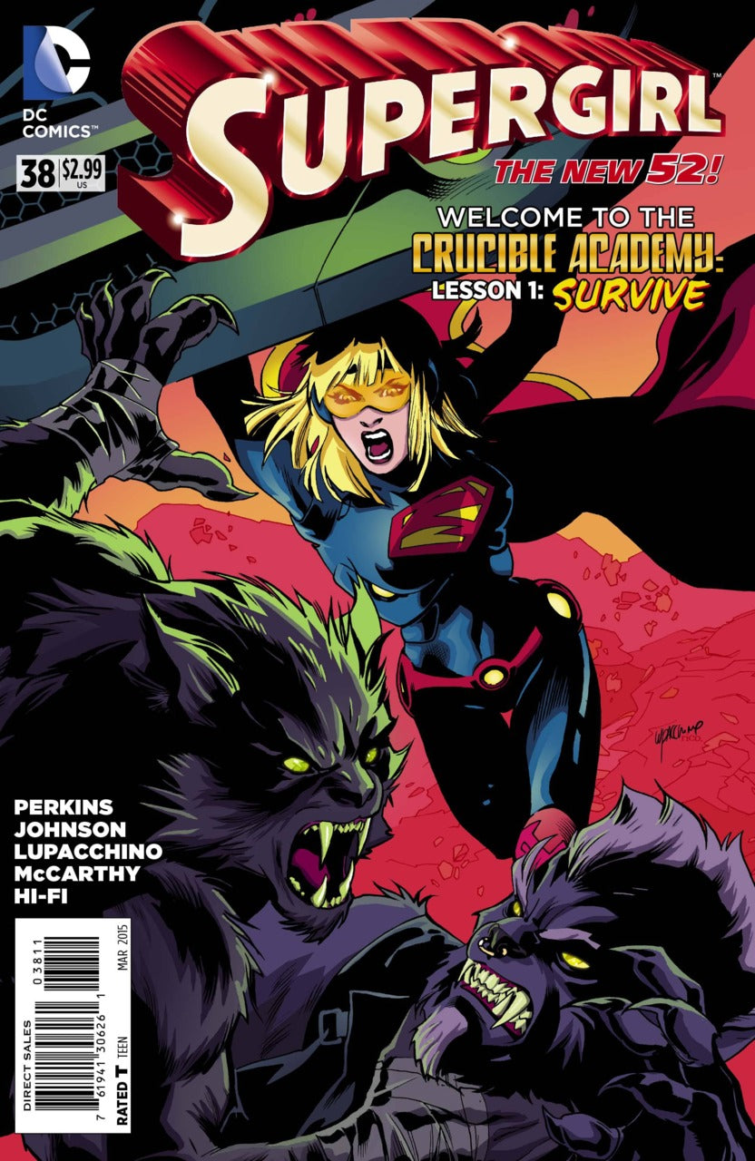 Supergirl (The New 52) #38