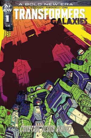 Transformers Galaxies (2019) #01 Nick Roche Cover