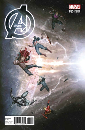 Avengers (2012) #35 Agustin Alessio Variant
