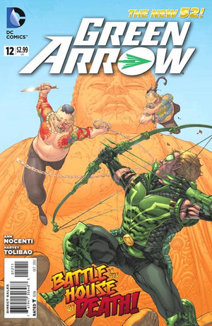 Green Arrow (The New 52) #12