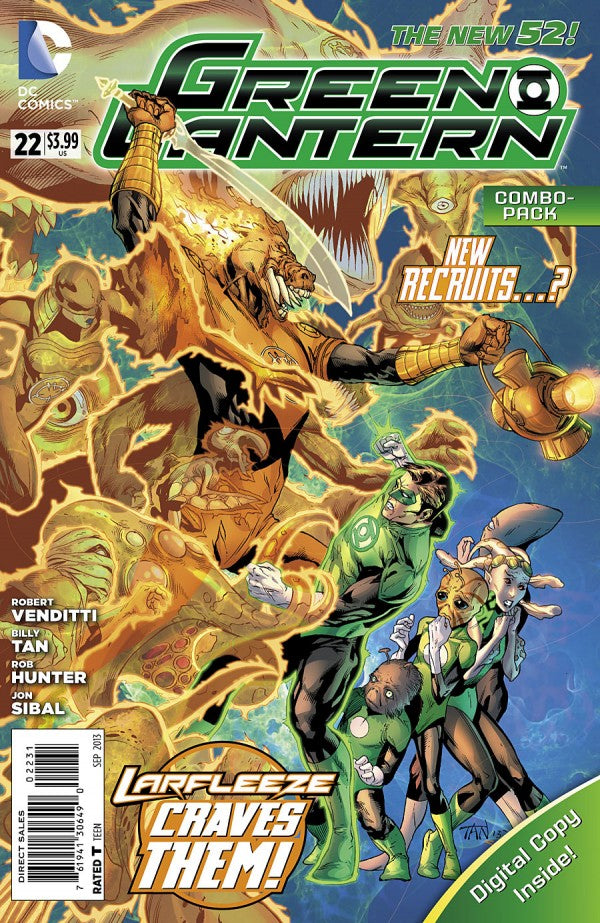 Green Lantern (The New 52) #22 Combo Edition