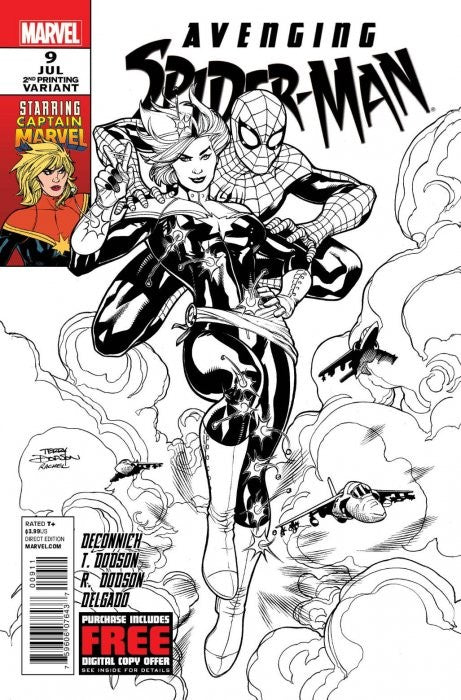 Avenging Spider-Man (2011) #09 2nd Print Sketch Variant