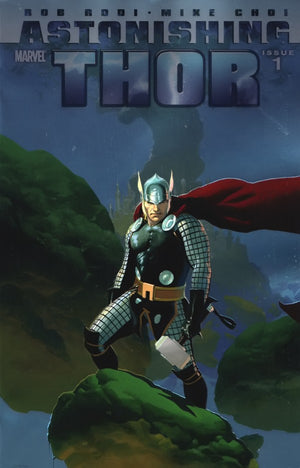 Astonishing Thor (2010) #1 (of 5) Foil Cover