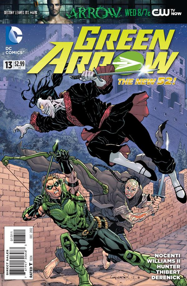 Green Arrow (The New 52) #13