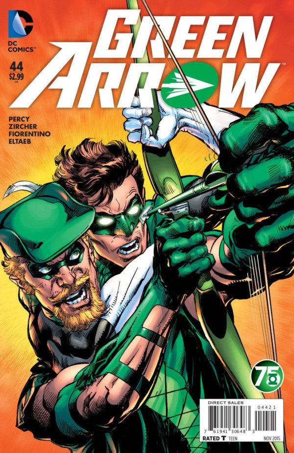 Green Arrow (The New 52) #44 Green Lantern 75th Anniversary Variant