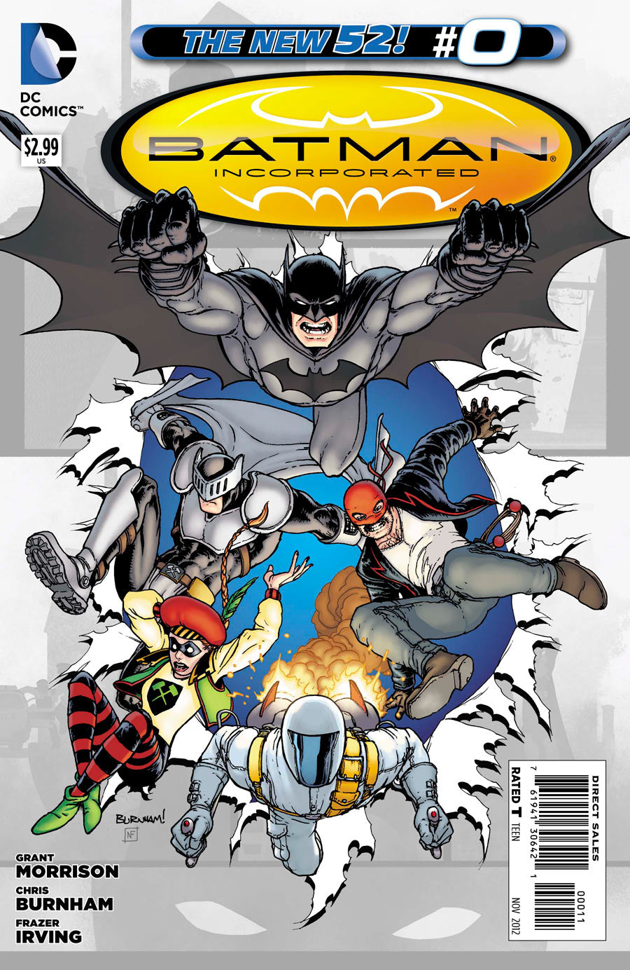 Batman Incorporated (The New 52) #00