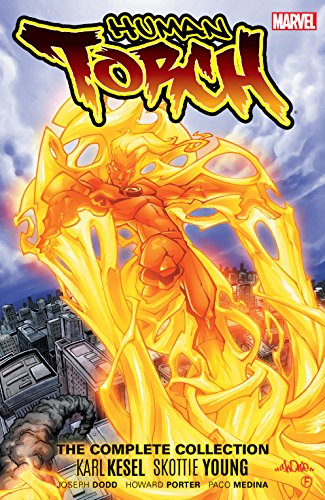 Human Torch By Karl Kesel & Skottie Young - The Complete Collection