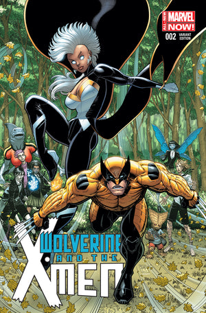 Wolverine And The X-Men (2014) #02 1:50 Arthur Adams Variant