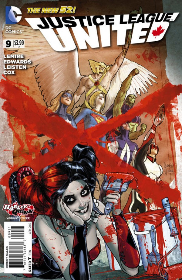 Justice League United (The New 52) #09 Harley Quinn Variant
