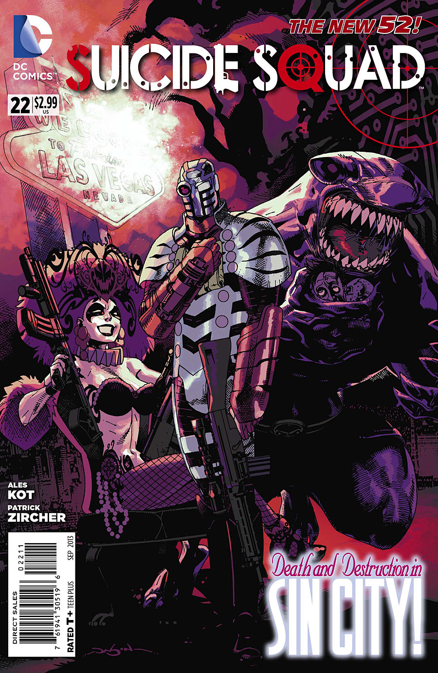 Suicide Squad (The New 52) #22
