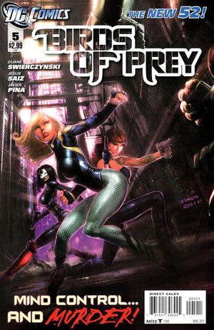 Birds of Prey (The New 52) #05