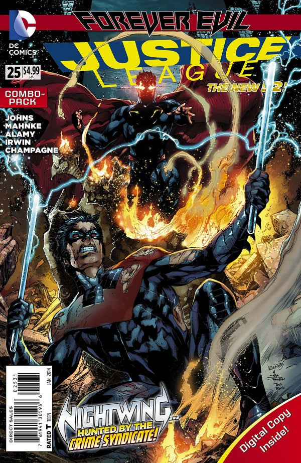 Justice League (The New 52) #25 Combo Pack