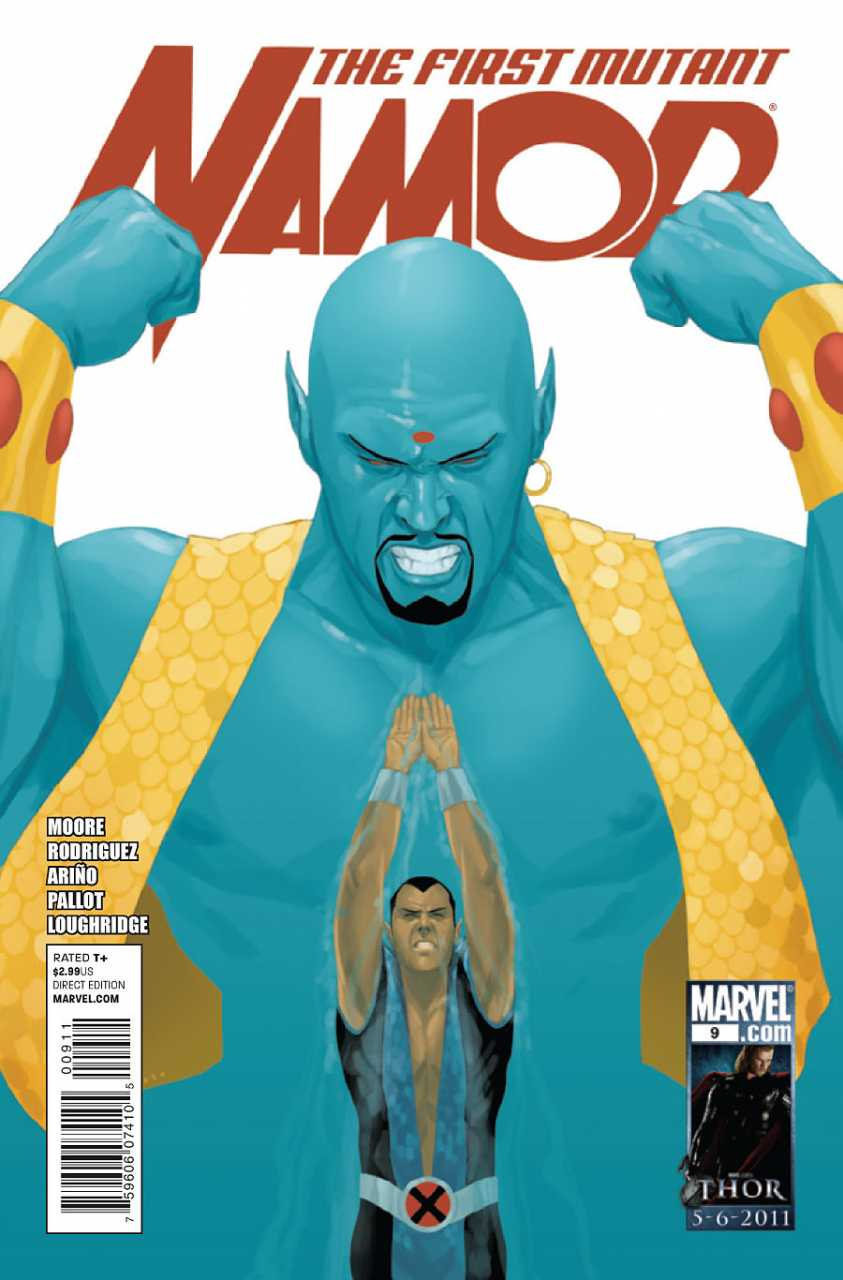 Namor: The First Mutant (2010) #09