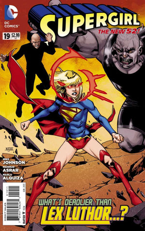 Supergirl (The New 52) #19