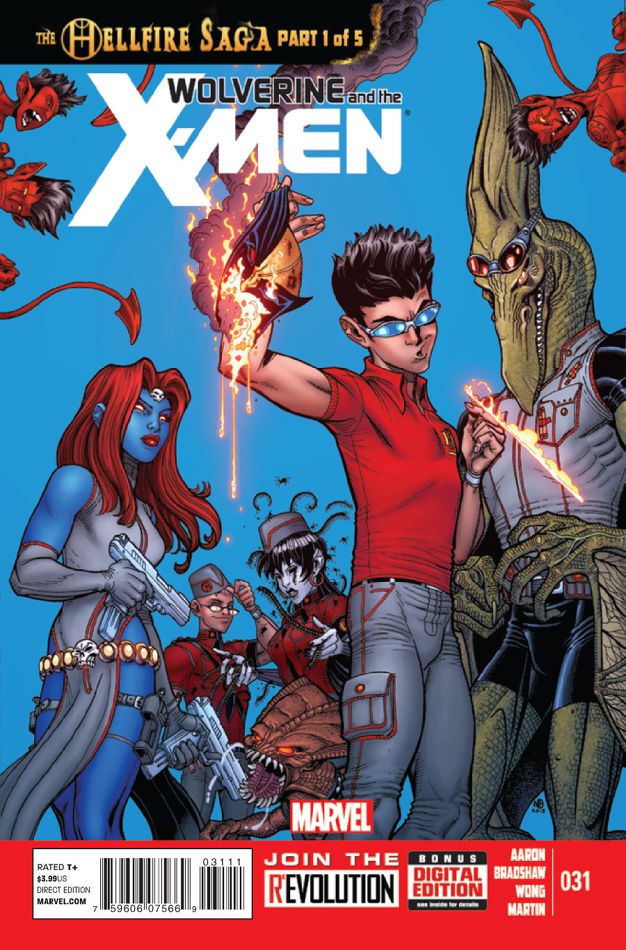 Wolverine and the X-Men (2011) #31