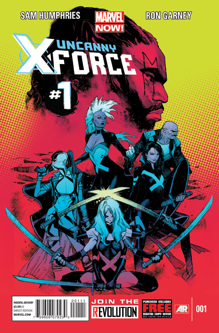 Uncanny X-Force (2013) #01