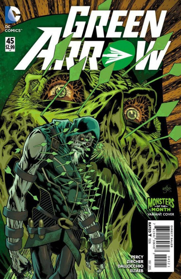Green Arrow (The New 52) #45 Monsters of the Month Variant