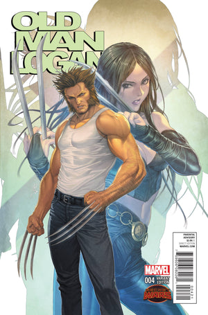 Old Man Logan (2015) #4 (of 5) Homare Manga Variant