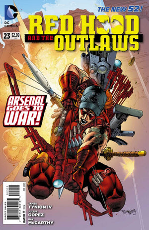 Red Hood and the Outlaws (The New 52) #23