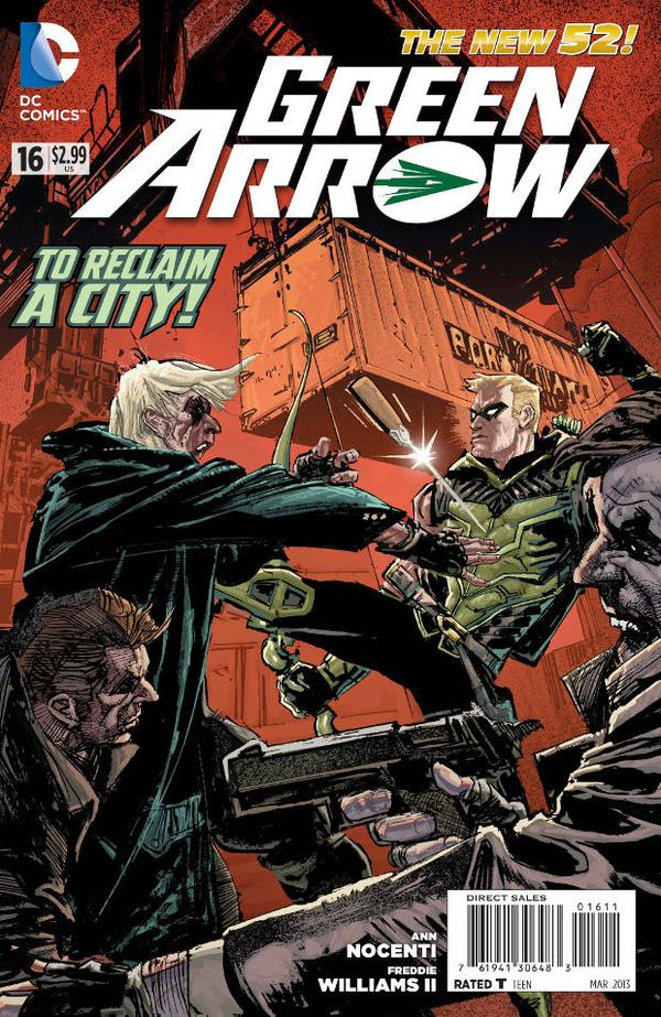 Green Arrow (The New 52) #16