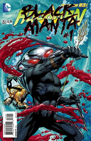 Aquaman (The New 52) #23.1 - Black Manta Standard Cover