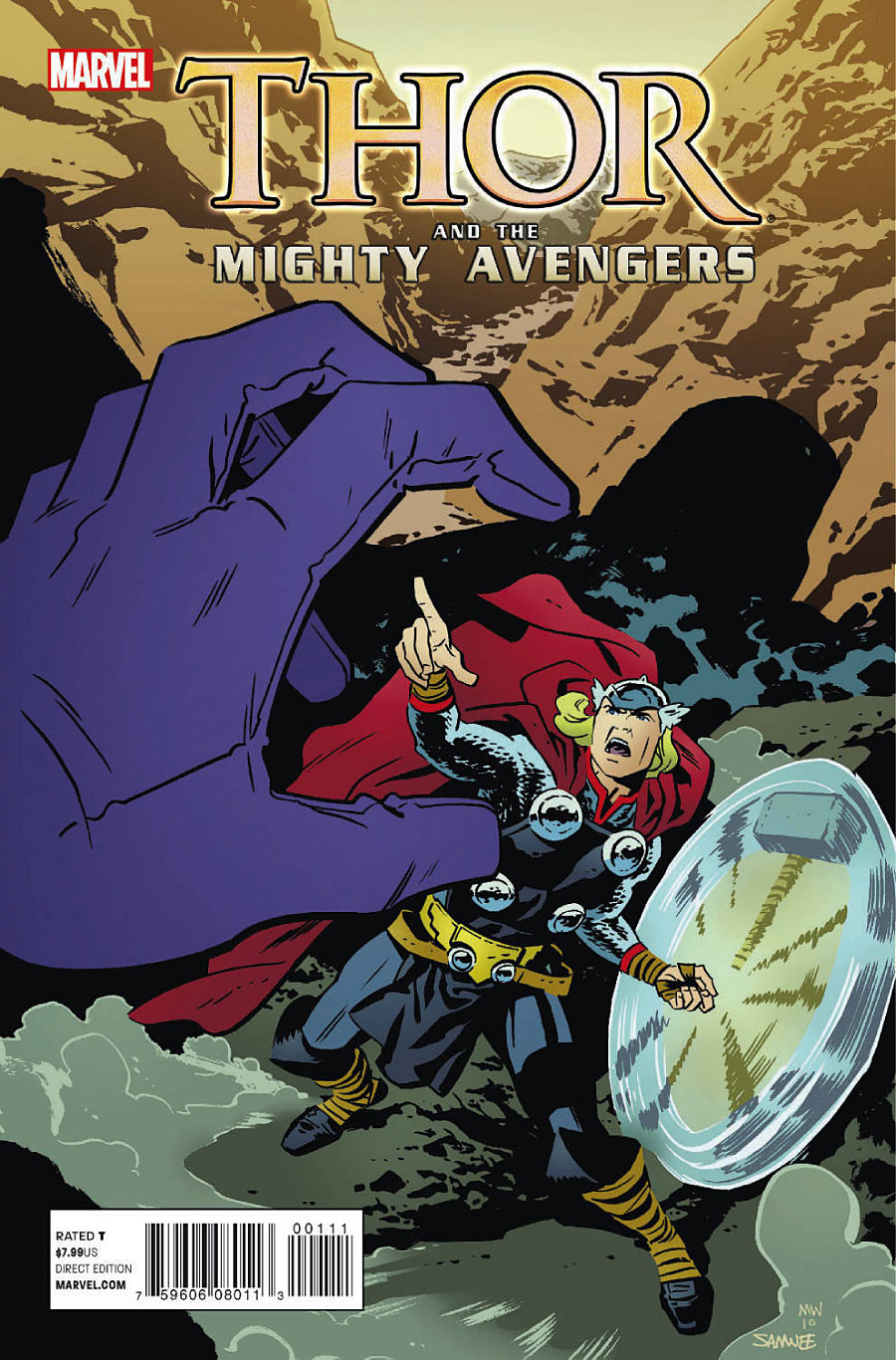 Thor And The Mighty Avengers