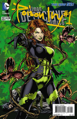 Detective Comics (The New 52) #23.1: Poison Ivy Standard Cover
