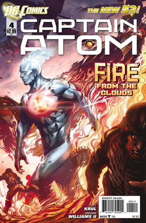 Captain Atom (The New 52) #4 Artgerm Cover