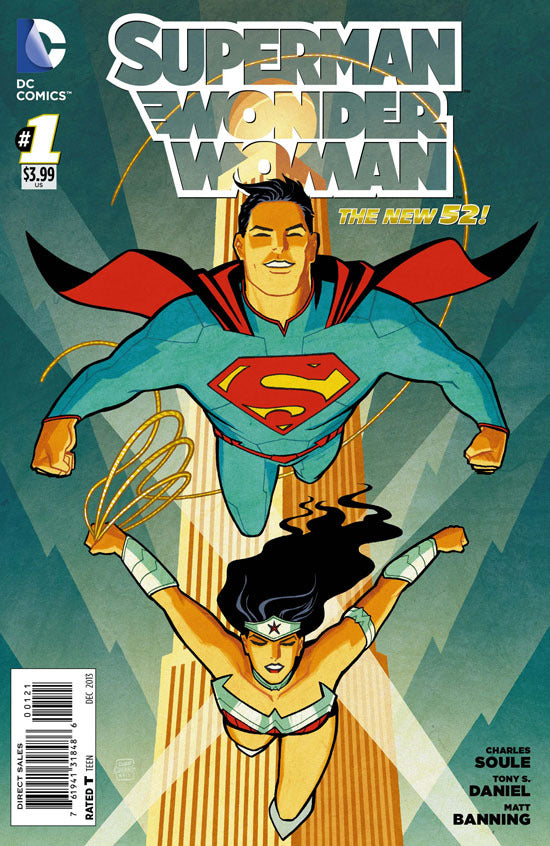 Superman / Wonder Woman (The New 52) #01 Cliff Chiang Variant