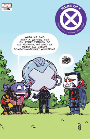 House of X (2019) #6 (of 6) Skottie Young Cover