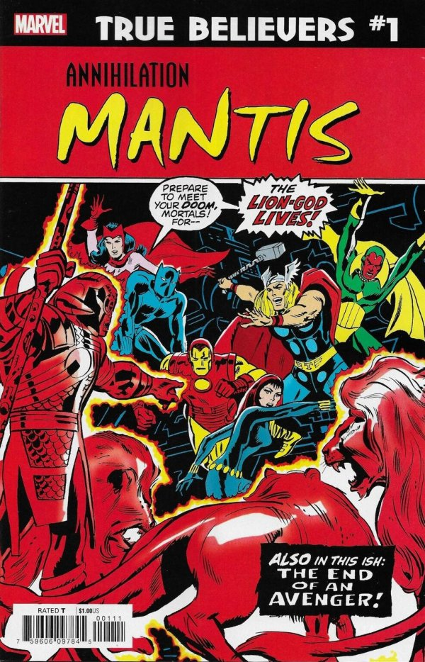 True Believers - Annihilation: Mantis #1
