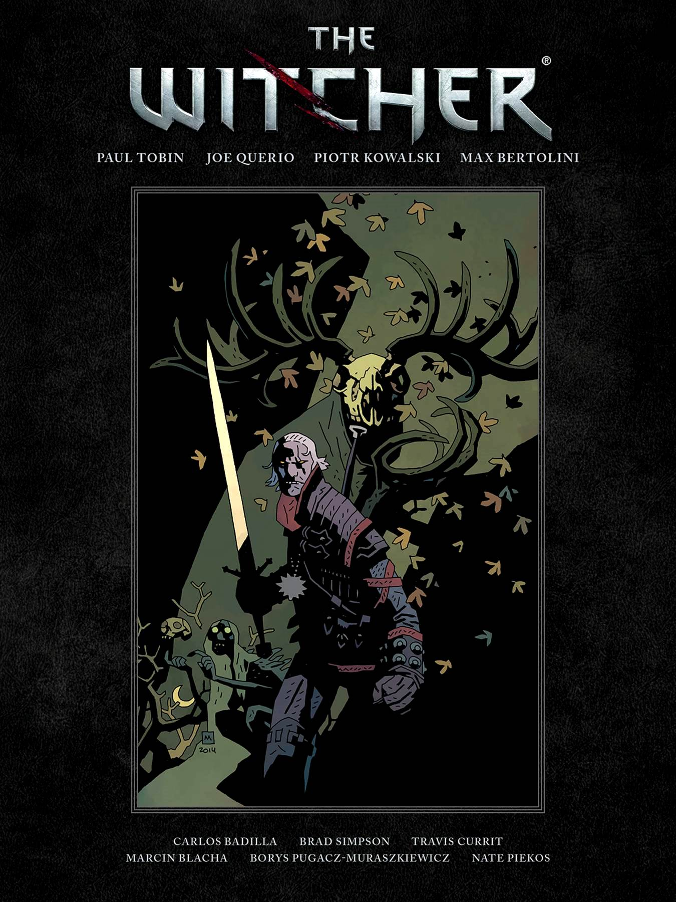 The Witcher Library Edition HC
