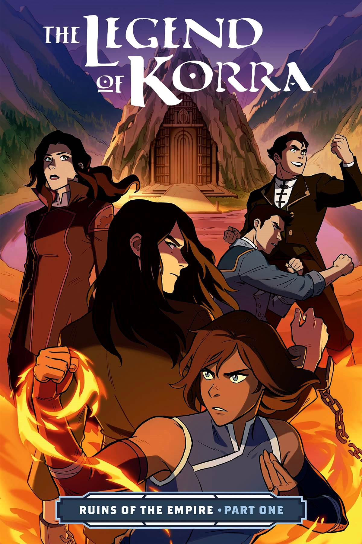 Legend of Korra: Ruins of the Empire Part 1