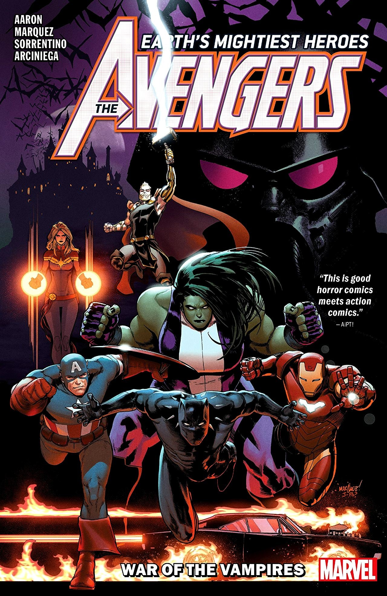 Avengers (2018) Volume 3: War of the Vampires
