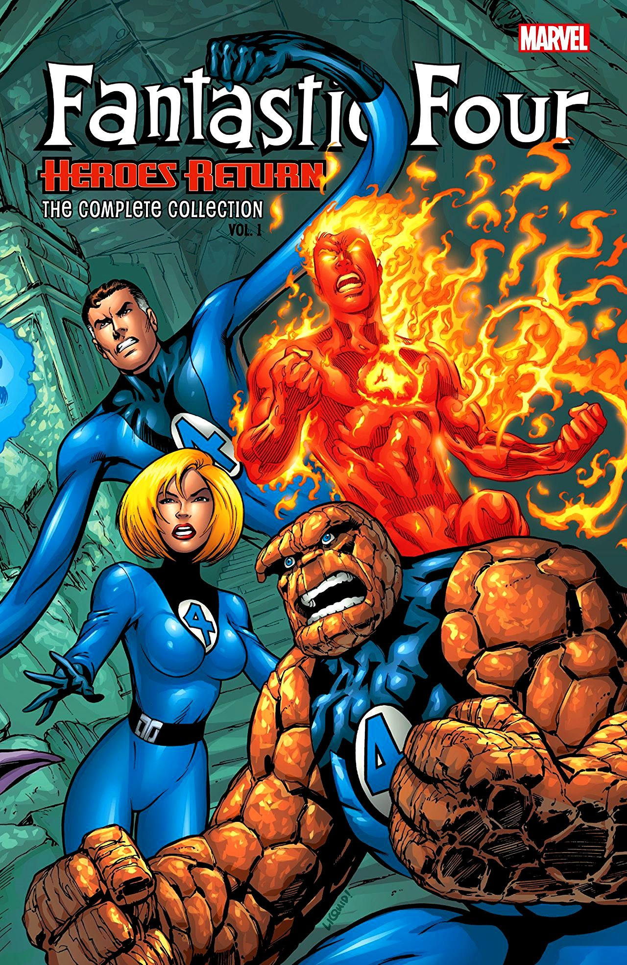 Fantastic Four (1998): Heroes Return - The Complete Collection Volume 1