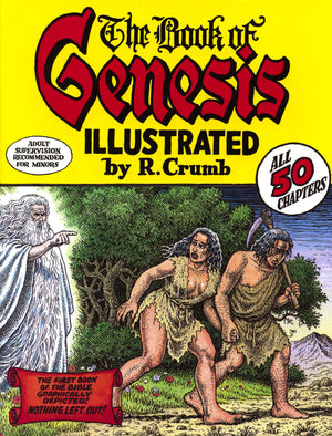 Book of Genesis - Illustrated by R. Crumb HC