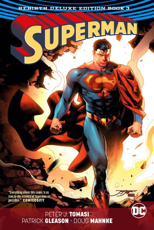 Superman - The Rebirth Deluxe Edition Book 3 HC