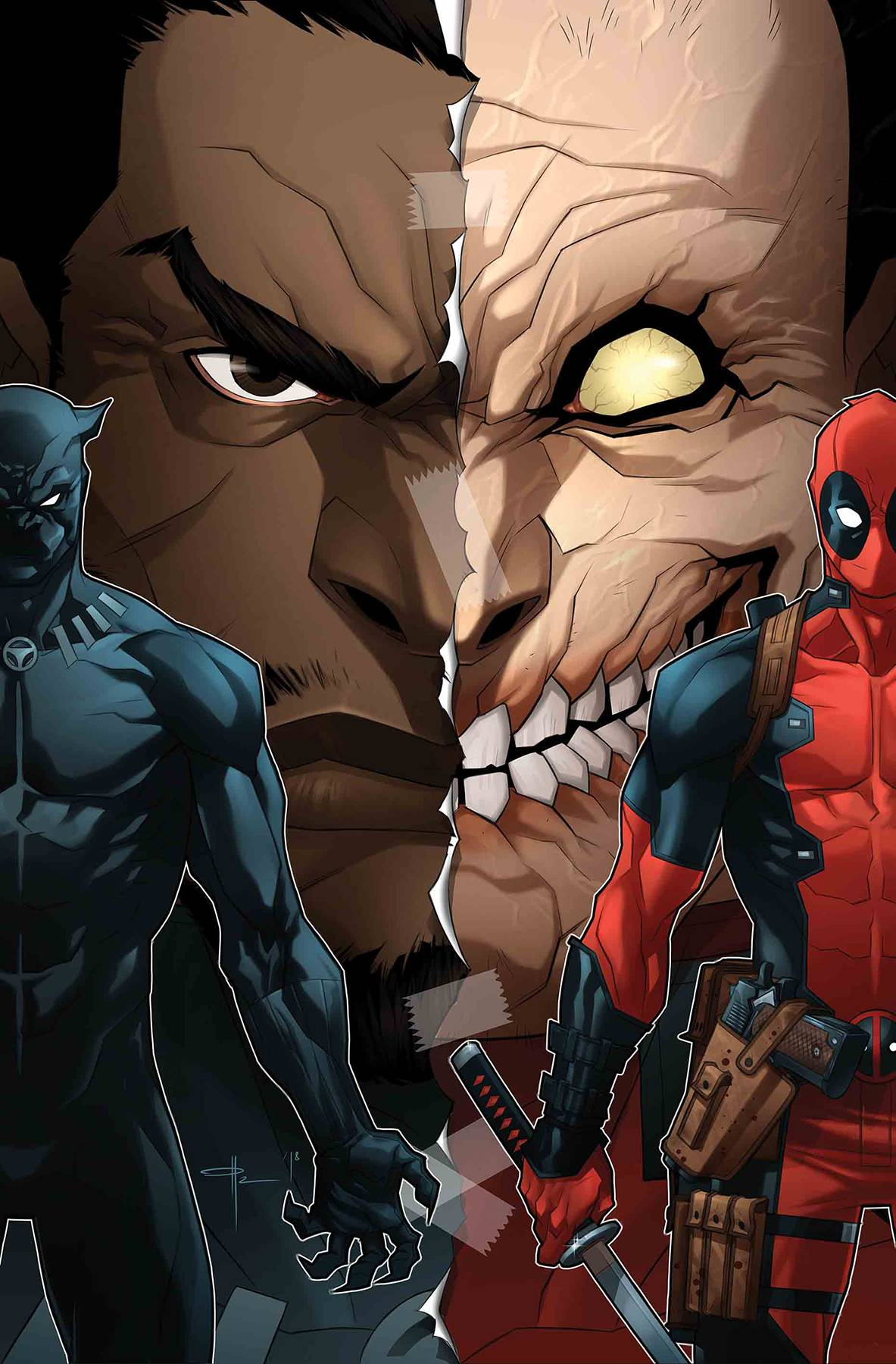 Black Panther Vs Deadpool #3 (of 5) Ozgur Yildirim Cover