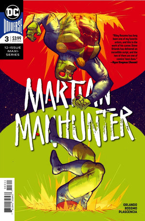Martian Manhunter (2018) #3 (of 12)