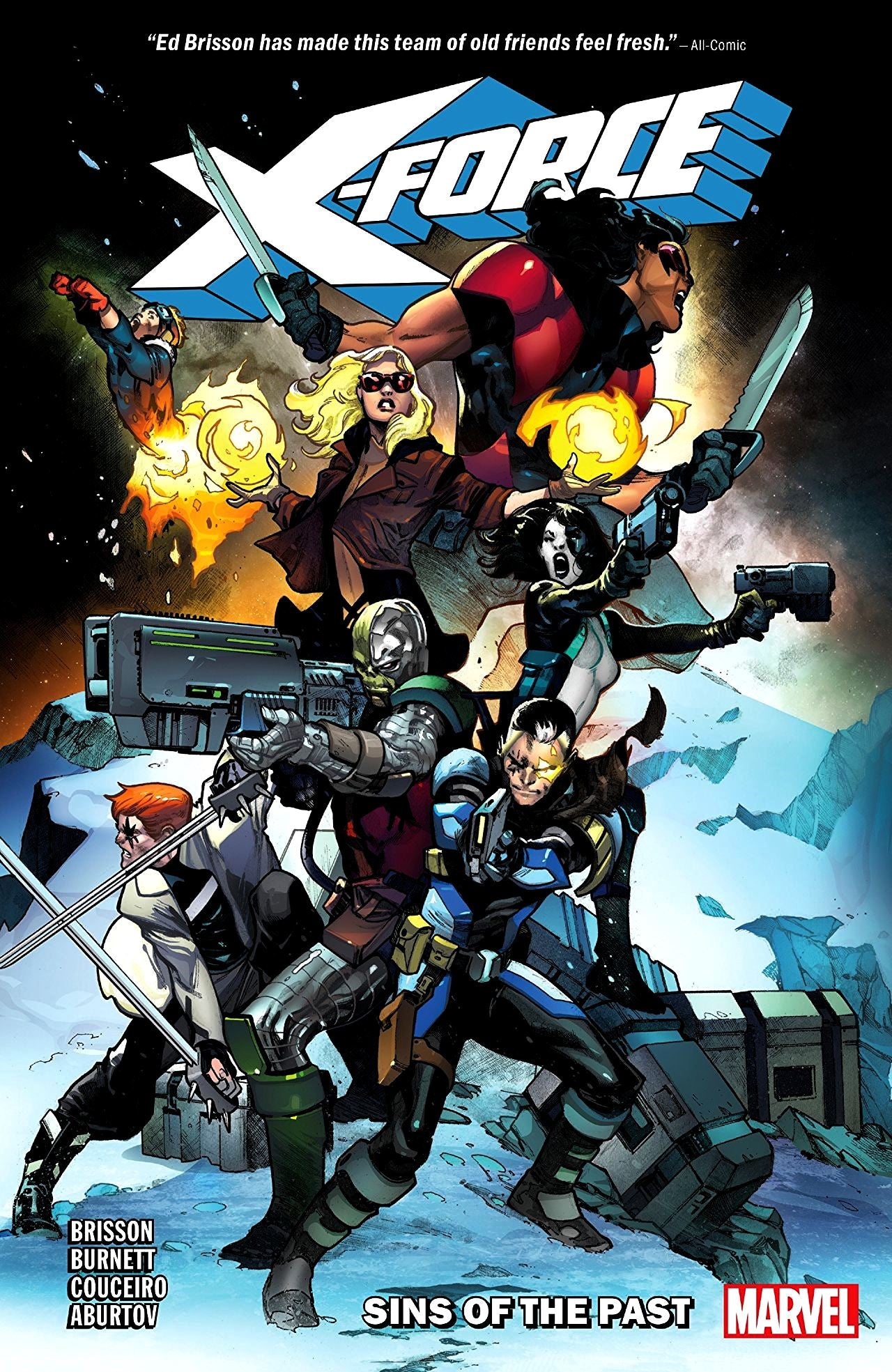 X-Force (2018) Volume 1: Sins of the  Past