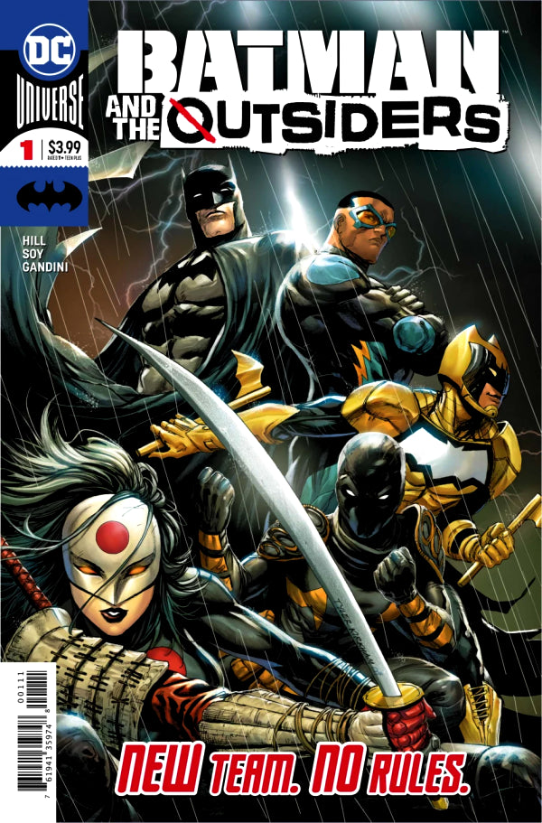 Batman and the Outsiders (2019) #01