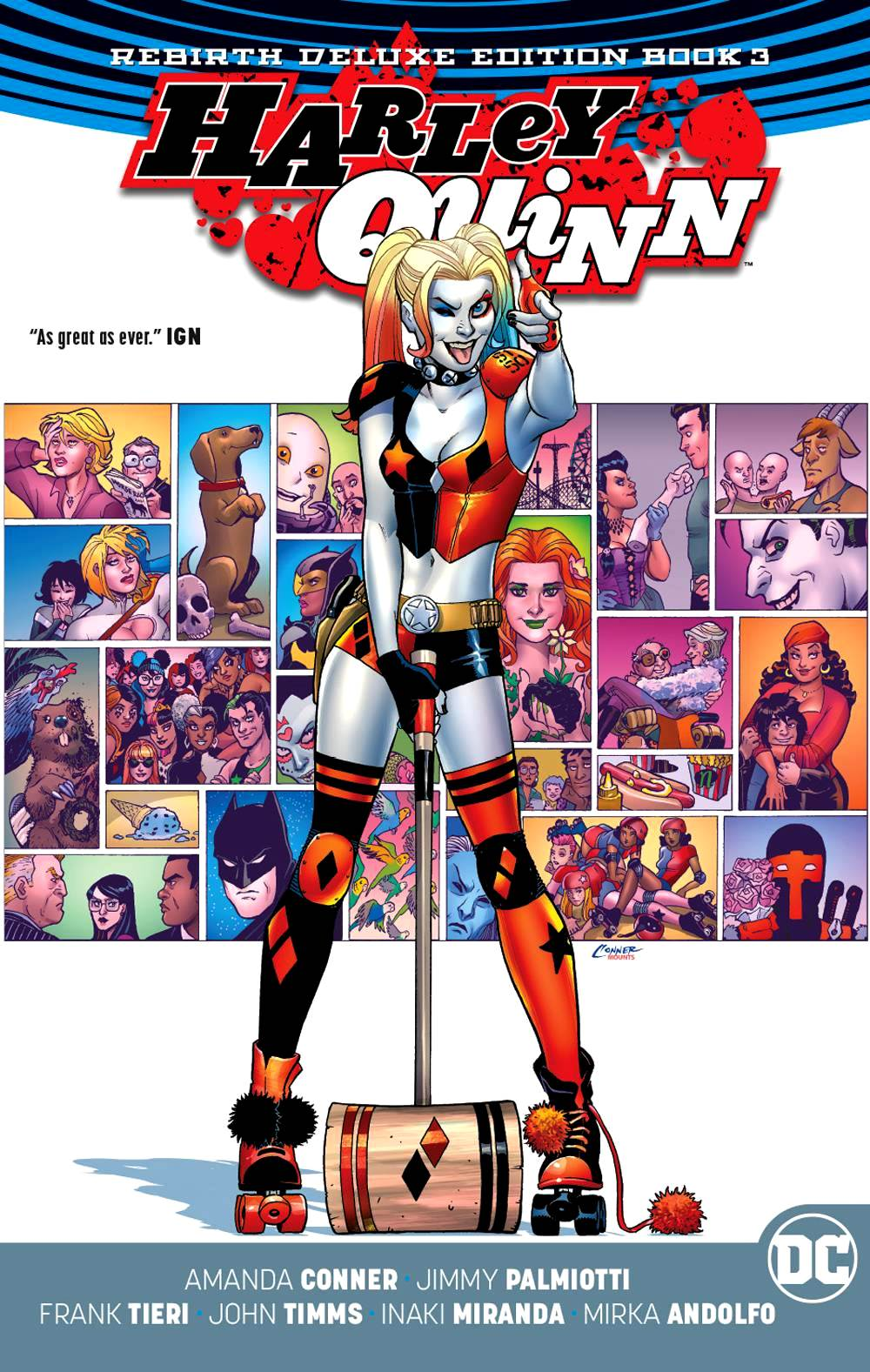 Harley Quinn - The Rebirth Deluxe Edition Book 3 HC
