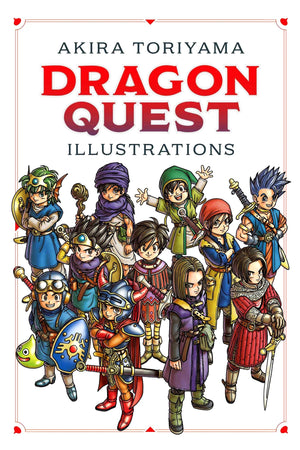 Dragon Quest: Illustrations - 30th Anniversary Collection HC