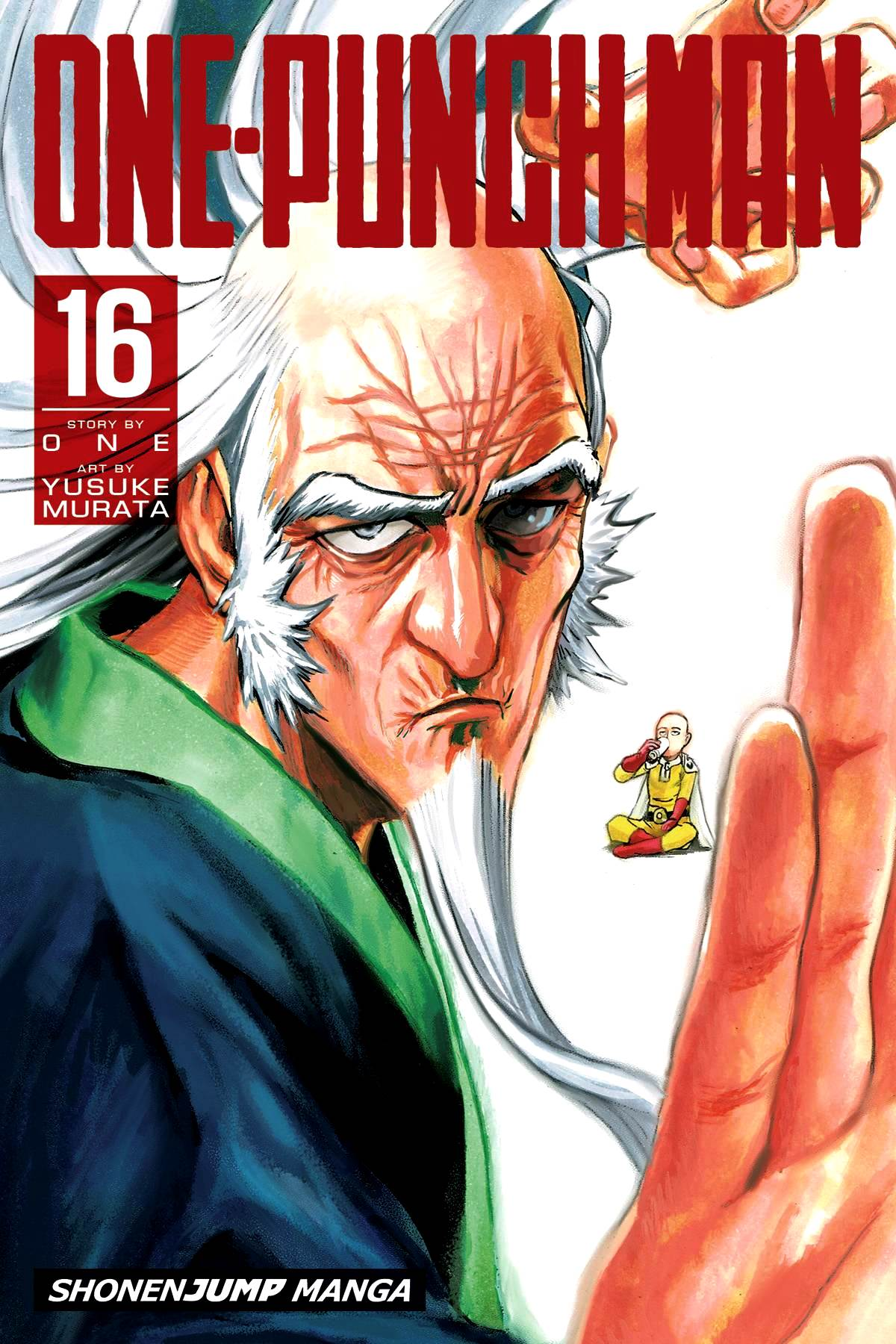 One-Punch Man Volume 16