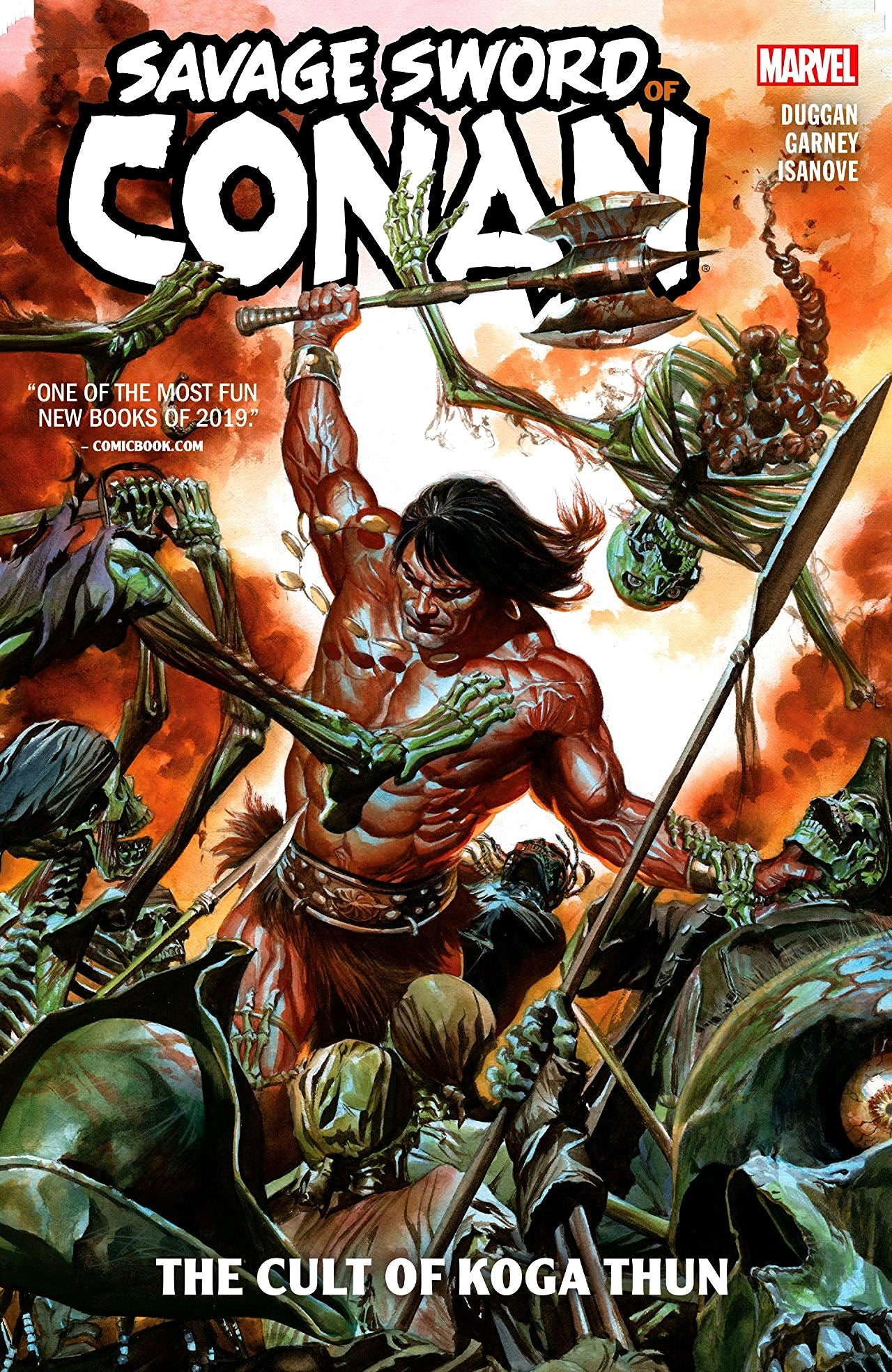 Savage Sword of Conan (2019) Volume 1: The Cult of Koga Thun