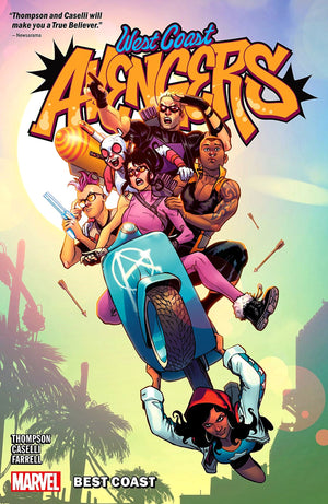 West Coast Avengers (2018) Volume 1: Best Coast