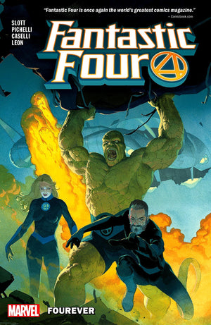 Fantastic Four (2018) Volume 1: Fourever